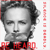 Be Heard // Charlize Theron
