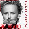 Be Heard // Charlize Theron